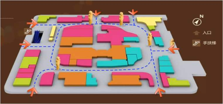 商业地产动线山西11选5走势图下载